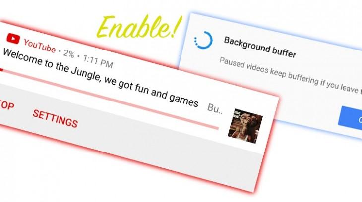 Youtube permet désormais de lancer une vidéo en arrière-plan