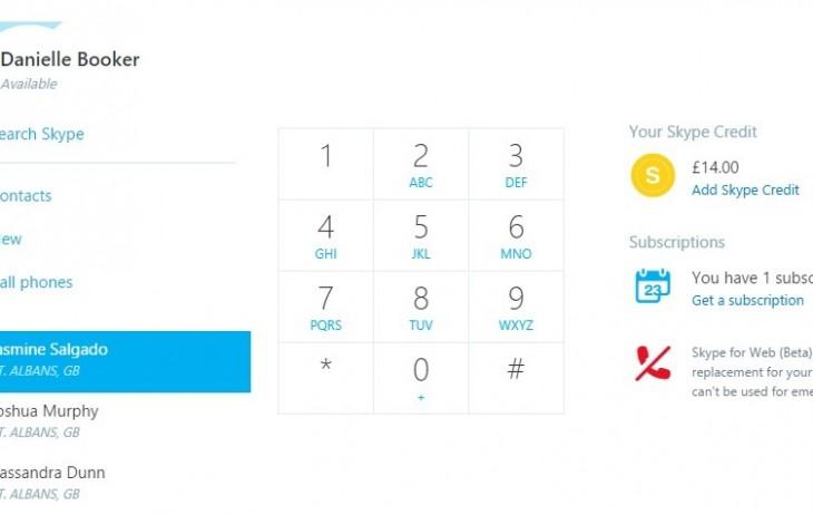Skype for Web vous permet de regarder des vidéos, d'ajouter des contacts et de faire des appels