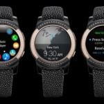 Samsung va travailler avec un bijoutier pour son Gear S3