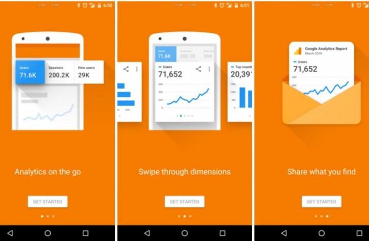 L'application Google Analytic sur Android bénéficie d'une refonte complète