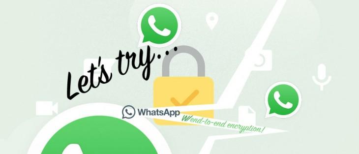 WhatsApp n'est pas entièrement chiffré