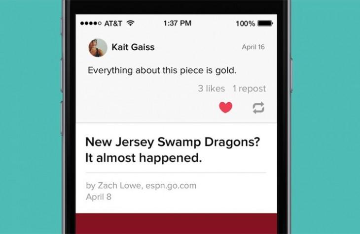 Pocket vous permet désormais de partager des articles sur votre flux recommandé