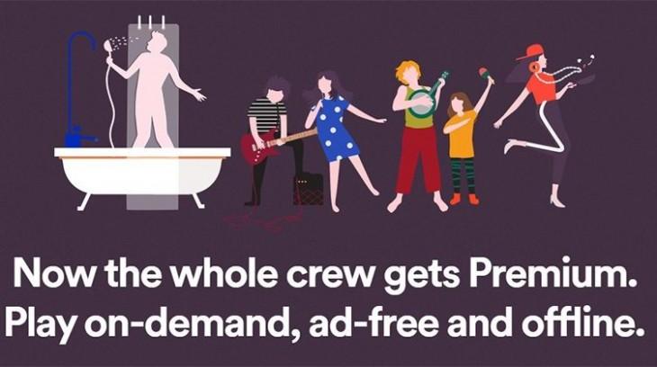 Spotify Family vous permet de partager votre compte avec 6 personnes