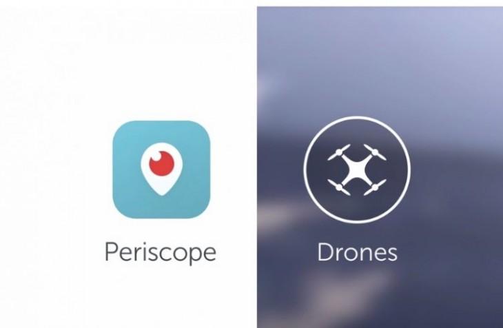Periscope vous permet de sauvegarder des Lives et voir des vidéos de drones