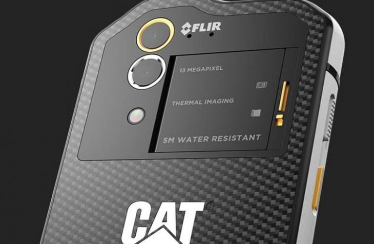 CAT S60 est le premier smartphone doté de l'imagerie thermique