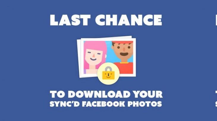 Facebook va supprimer vos photos synchronisées