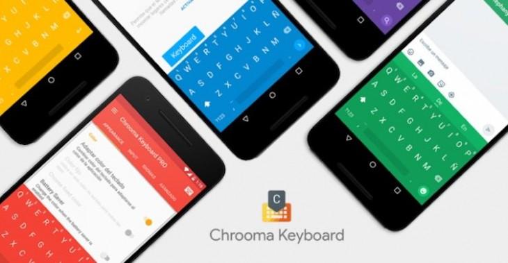 Chrooma Keyboard 3.0 propose une gestuelle améliorée et l'intégration de Google Now