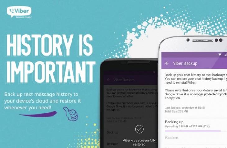 Viber vous permet désormais d'envoyer des GIF, de l'argent et de sauvegarder des conversations