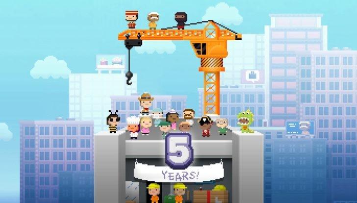 Tiny Towers est de nouveau disponible sur le Play Store