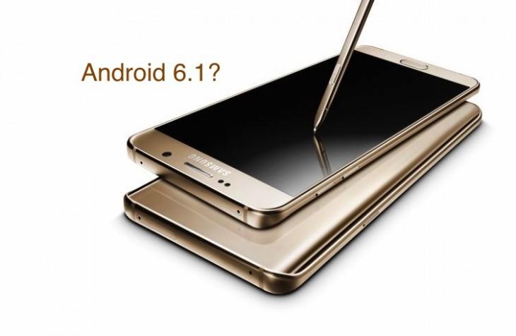 On a découvert un Galaxy Note 7 tournant sous Android 6.1