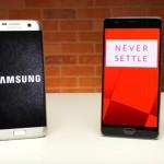 OnePlus 3 est plus rapide que le Galaxy S7