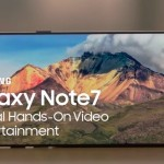 Le Galaxy Note 7 : L'appareil ultime de divertissement