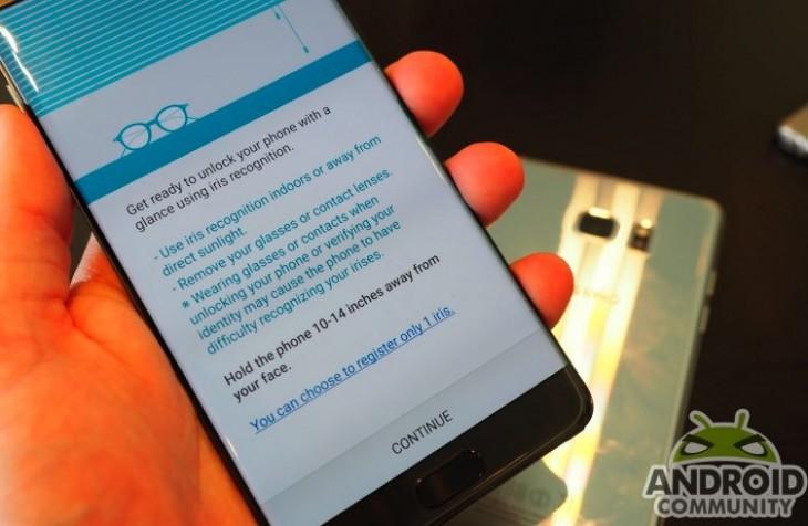 Le scanner rétinien de Samsung est l'un des plus sécurisés