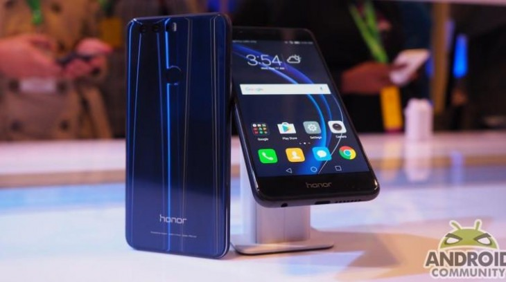 Le Huawei Honor 8 est officiellement disponible en Europe