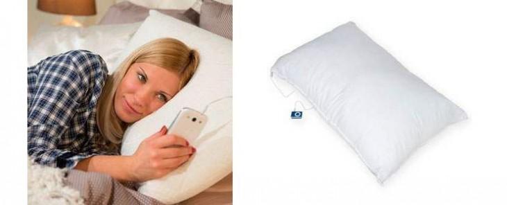 Test de l'oreiller avec haut-parleur intégré iMusic