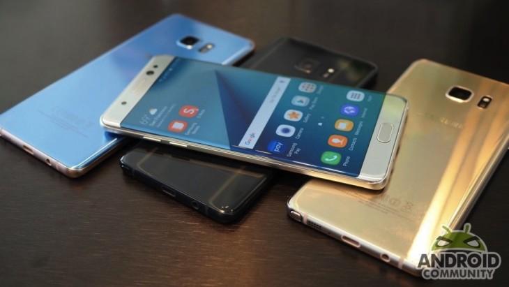 Samsung : Des chiffres en hausse malgré la débacle du Note 7