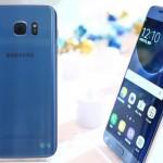 Le Galaxy S7 Edge bénéficie de la couleur de corail bleu du Note 7