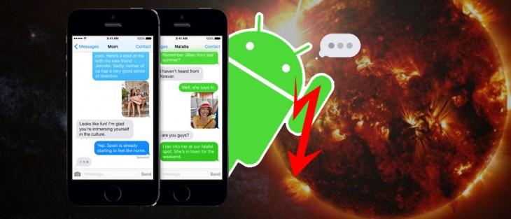 Bientôt, vous aurez iMessage sur Android
