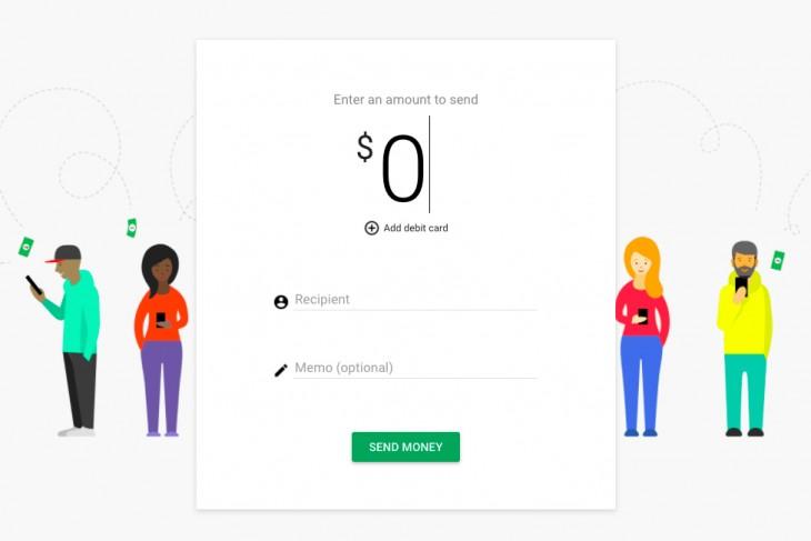 Google Wallet vous permet d'envoyer de l'argent avec une carte de débit