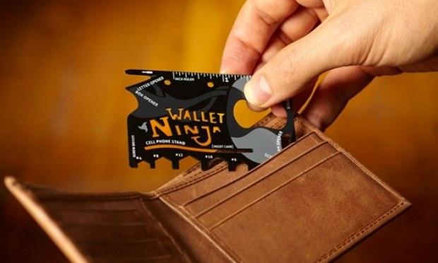 Test de la carte multifonction Wallet Ninja