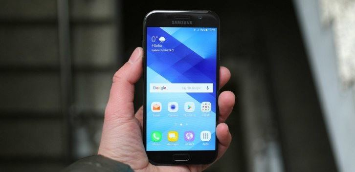Prise en main du Galaxy A5 (2017)